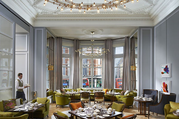 The Rosebery Room at the Mandarin Oriental