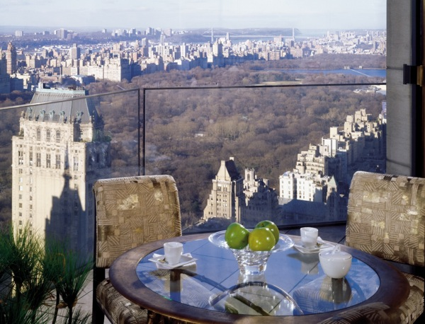 The view from the Four Seasons New York