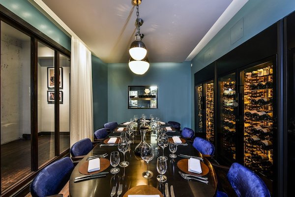 Cabotte private dining room