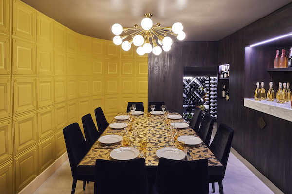 Ritorno private dining room
