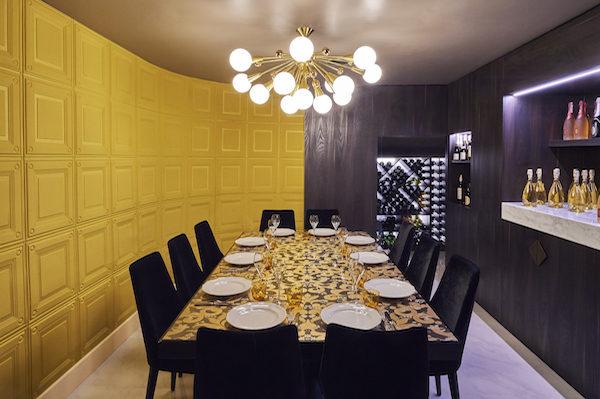 Ritorno private dining room