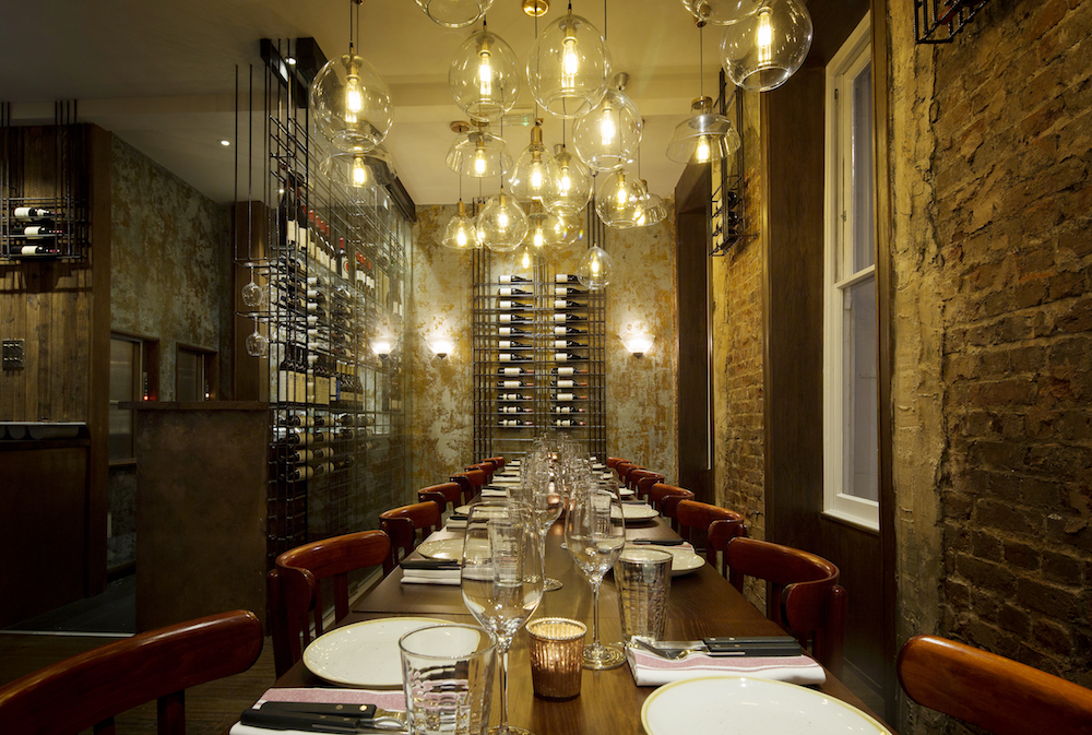 The Ninth private dining room