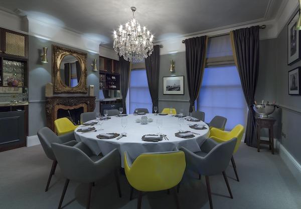 Vineet Bhatia private dining