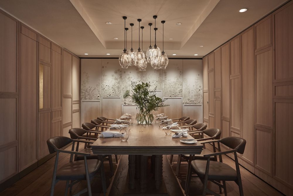 Private dining room at Hide Above