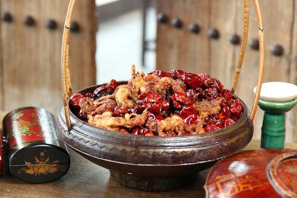 The red lantern dish at Hutong London