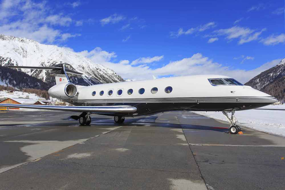 Travel in style by private jet