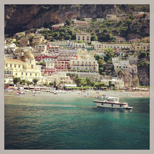 Gorgeous views of Positano