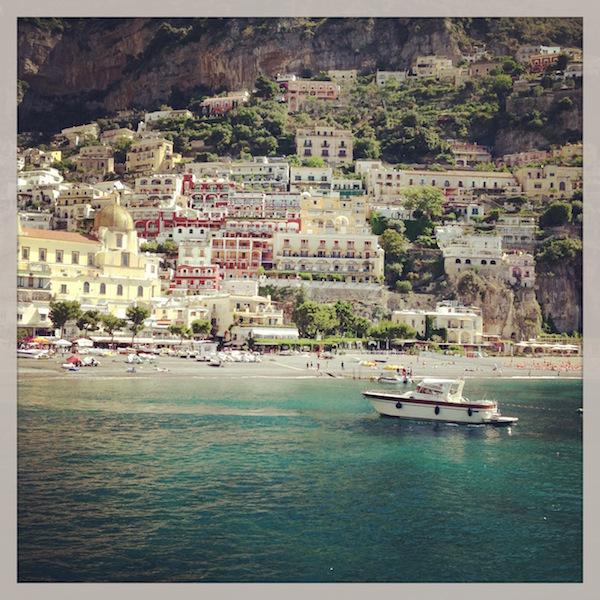 Gorgeous views of Positano