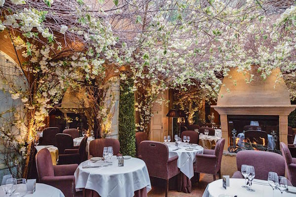 Clos Maggiore - one of the most romantic restaurants in London
