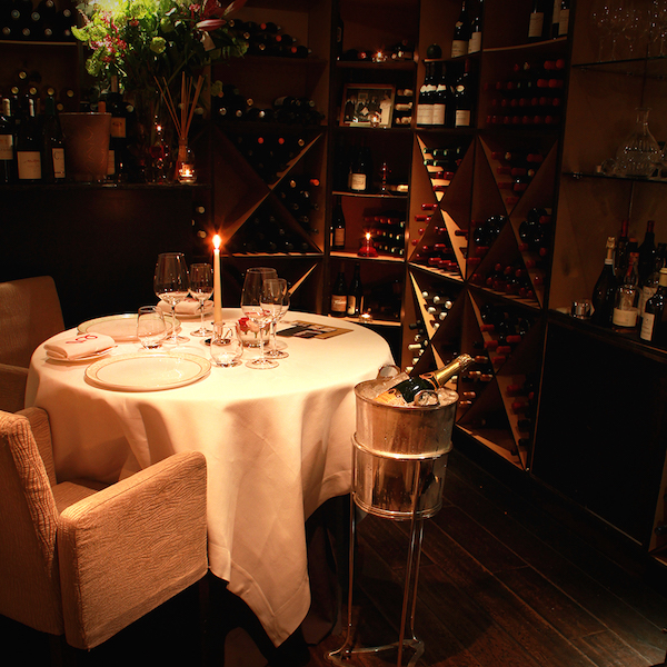 The most romantic restaurants in london the bon vivant for Best private dining rooms west end london