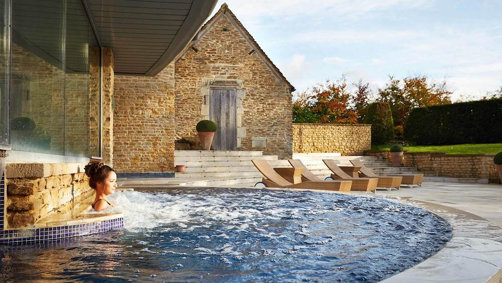 the spa at Whatley Manor