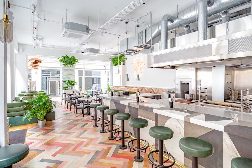 Maison Bab restaurant in Covent Garden
