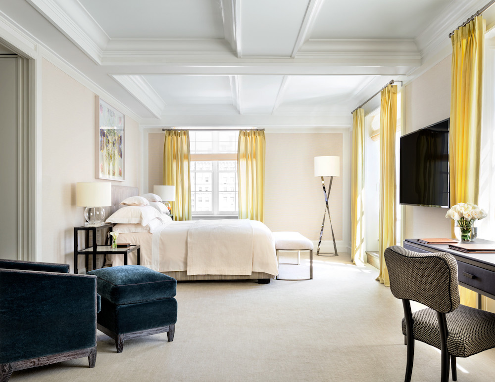 The bedrooms at The Mark Hotel