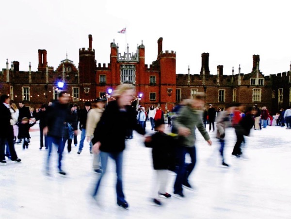 Hampton Court Palace Ice Skating