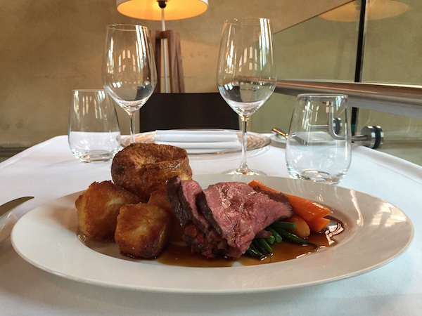 Galvin la Chapelle Sunday Roast