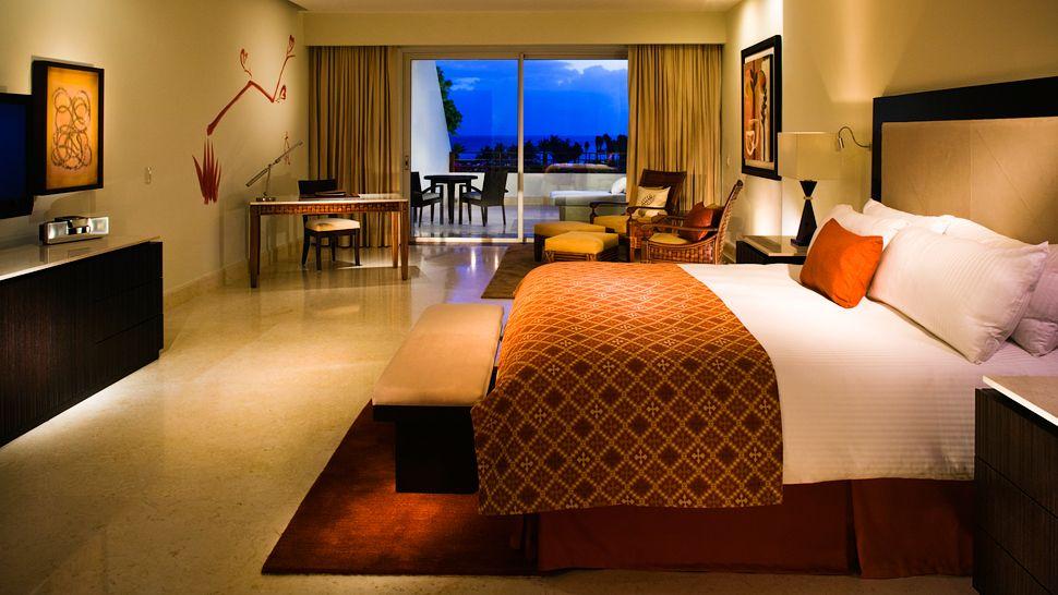 the rooms at Grand Velas Riviera Maya
