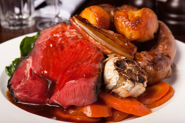 Sunday roast at Hawksmoor