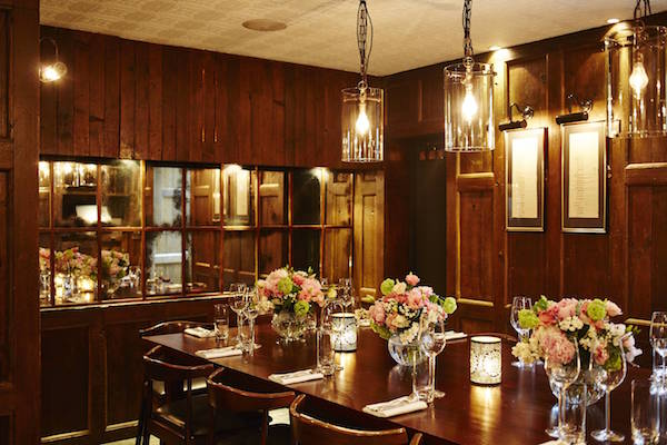 Trishna Private dining room
