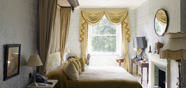 The bedrooms at Home House in London