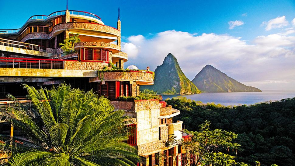 Jade Mountain in Saint Lucia