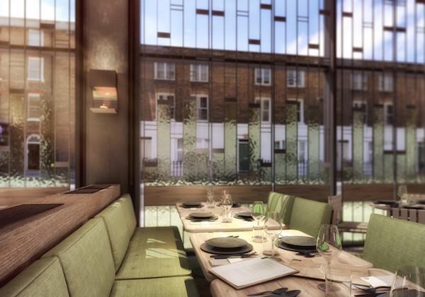 Fucina restaurant in Marylebone