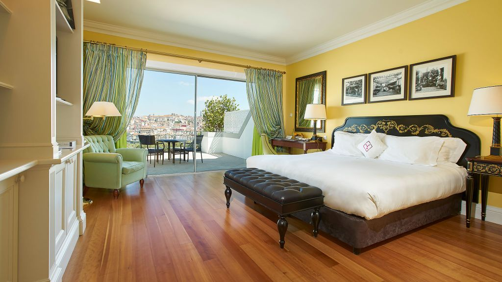 Bedrooms at The Yeatman