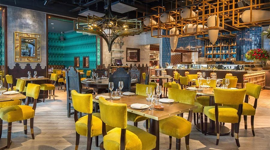 Coya Angel Court, one of the best restaurants in The city of london.