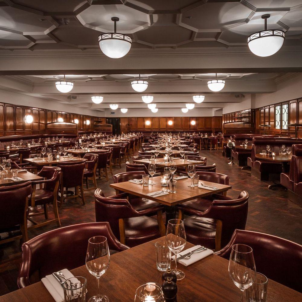 Hawksmoor Guildhall, one of the best City of London restaurants