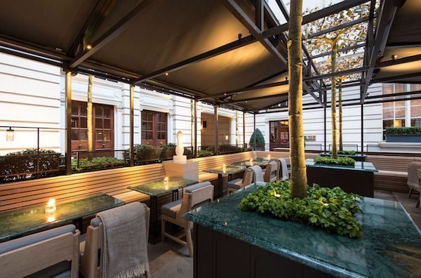 GQ Terrace at The Rosewood London