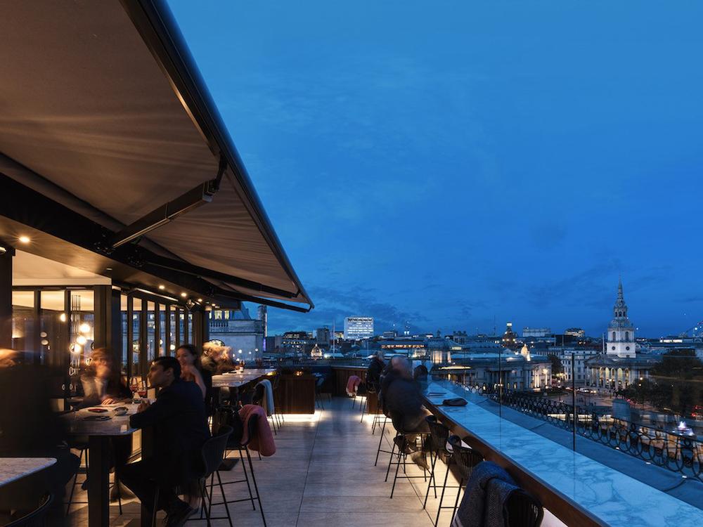 Rooftop at the Trafalgar Hotel