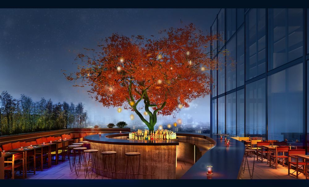 Sushisamba London Rooftop Bar