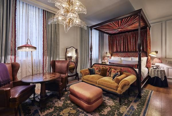 Bedrooms at The Ned Hotel in London