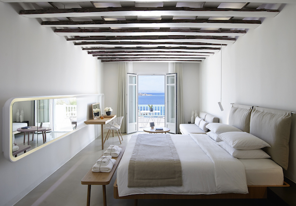 Stylish suites at Bill & Coo Suites in Mykonos