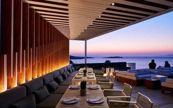 Bill & Coo Restaurant in Mykonos