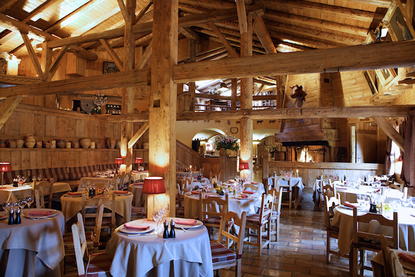 Restaurant Traditionelle at Les Fermes de Marie Megeve