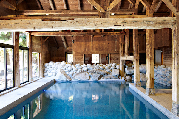 Pure Altitude Spa at Les Fermes de Marie Megeve