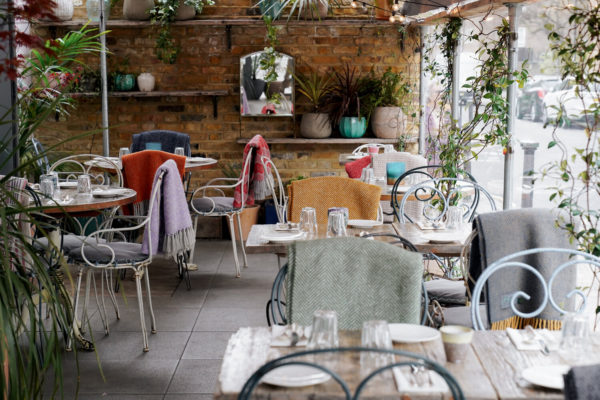 Chicama, a Peruvian restaurant with outdoor seating in Chelsea