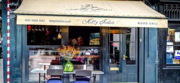 Kitty Fisher's one of the best outdoor restaurants in Mayfair