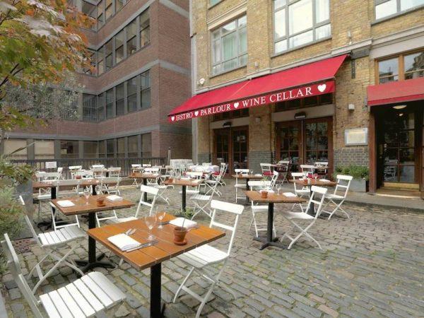 Bleeding Heart, one of the best restaurants in Clerkenwell