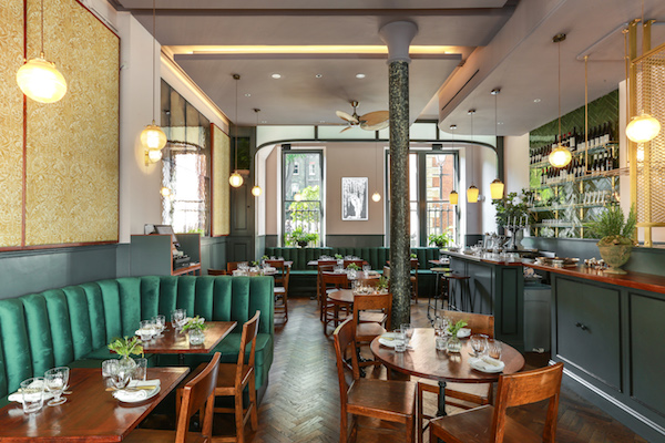 Cora Pearl Restaurant in Covent Garden