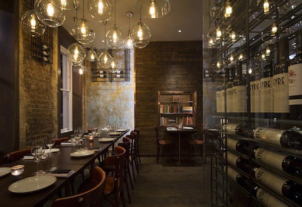 The Ninth restaurant on Charlotte Street