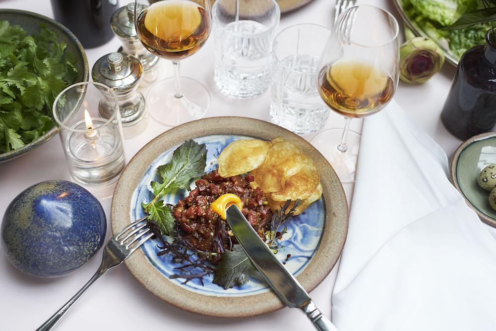 The food at Serge et le Phoque