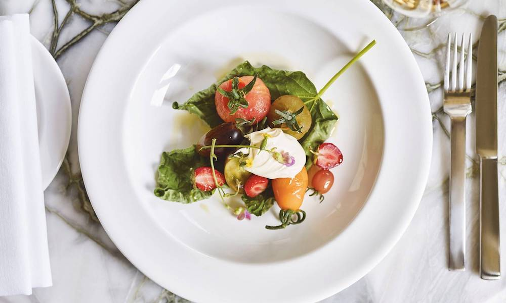 food by Skye Gyngell at Heckfield Place