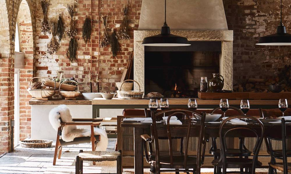 Hearth restaurant at heckfield place