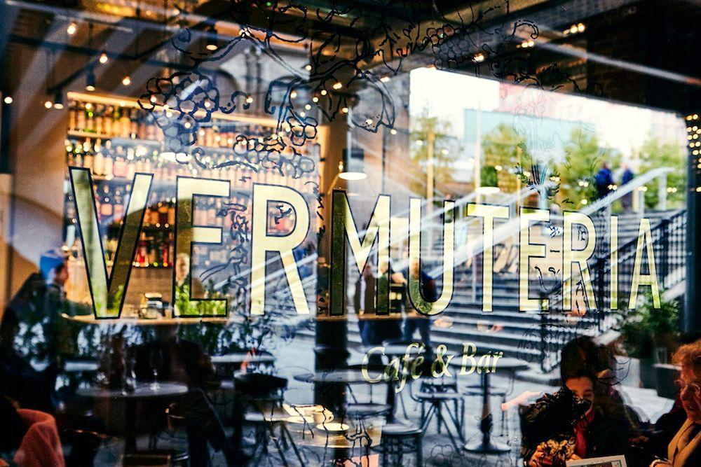 Vermuteria Café & Bar in the new Coal Drops Yard site in King's Cross.