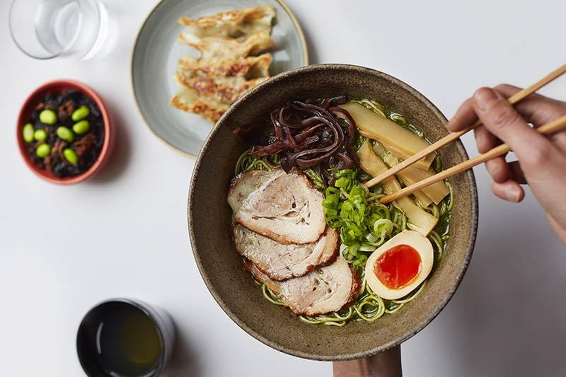 Yamagoya ramen restaurant in Soho
