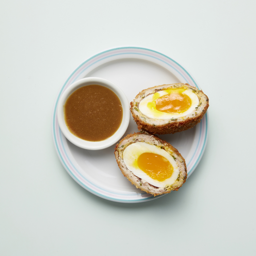 Scotch egg at Jidori