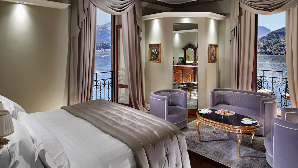 The rooms at Grand Hotel Tremezzo