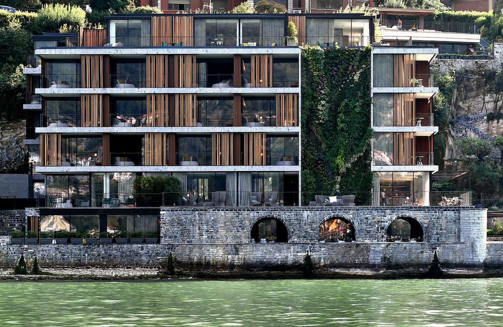 Il Sereno, a contemporary luxury hotel on Lake Como