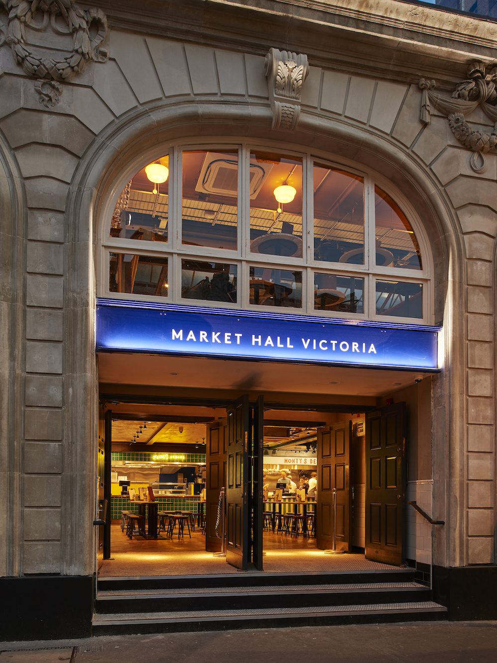 the exterior of Market Hall Victoria